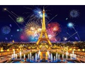Puzzle Půvab pařížské noci