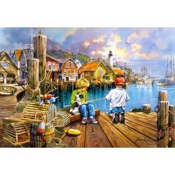 Puzzle V přístavu