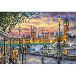 Puzzle Londýn na podzim