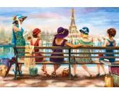 Puzzle Dámy v Paříži