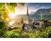 Puzzle Pohlednice z Hallstattu