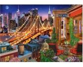 Puzzle Světla z Brooklynského mostu