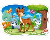 Puzzle Koloušek a kamarádi z lesa - DĚTSKÉ PUZZLE