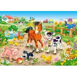 Puzzle Na farmě - DĚTSKÉ PUZZLE