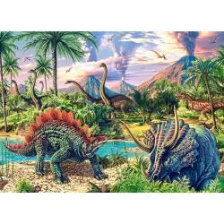 Puzzle Život dinosaurů - DĚTSKÉ PUZZLE