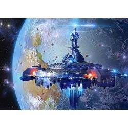 Puzzle Mimozemská kosmická loď - DĚTSKÉ PUZZLE