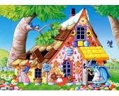 Puzzle Perníková chaloupka - DĚTSKÉ PUZZLE
