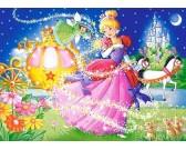 Puzzle Veselá Popelka - DĚTSKÉ PUZZLE