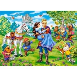 Puzzle Sněhurka - DĚTSKÉ PUZZLE