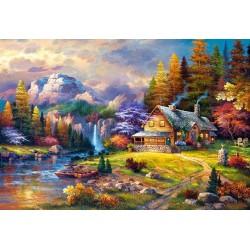 Puzzle Úkryt v horách