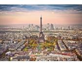 Puzzle Pohled na Paříž