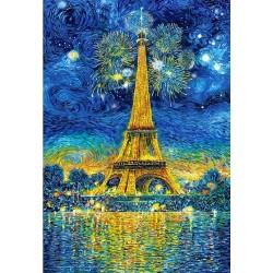 Puzzle Pařížské oslavy