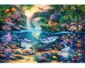 Puzzle Ráj v džungli