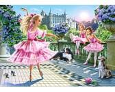 Puzzle Baletky na terase - DĚTSKÉ PUZZLE