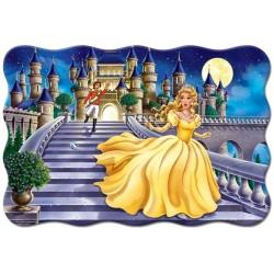 Puzzle Popelka utíká ze zámku - DĚTSKÉ PUZZLE