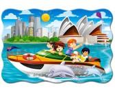 Puzzle Výlet do Sydney - DĚTSKÉ PUZZLE