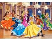 Puzzle Princezny na plese - DĚTSKÉ PUZZLE