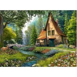 Puzzle Chaloupka hluboko v lese