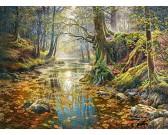 Puzzle Vzpomínky na podzimní les