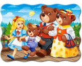 Puzzle Medvídci na procházce - DĚTSKÉ PUZZLE