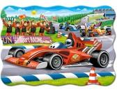 Puzzle Závod formulí