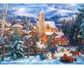 Puzzle Vánoční atmosféra - DĚTSKÉ PUZZLE