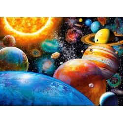 Puzzle Planety a jejich měsíce - DĚTSKÉ PUZZLE