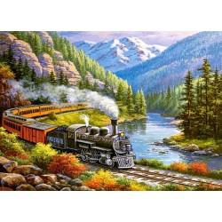 Puzzle Vlak v údolí orlů - DĚTSKÉ PUZZLE