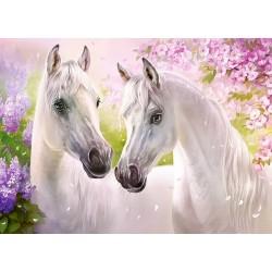 Puzzle Koní romantika - DĚTSKÉ PUZZLE