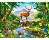 Puzzle Harmonie lesa - DĚTSKÉ PUZZLE