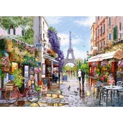 Puzzle Rozkvetlá Paříž