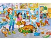 Puzzle Návštěva veterináře - DĚTSKÉ PUZZLE