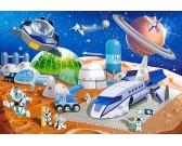 Puzzle Vesmírná stanice - DĚTSKÉ PUZZLE