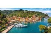 Puzzle Pohled na Portofino - PANORAMATICKÉ PUZZLE