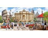 Puzzle Nádhera Říma - PANORAMATICKÉ PUZZLE