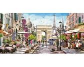 Puzzle Krásy Paříže - PANORAMATICKÉ PUZZLE