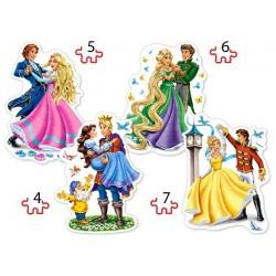 Puzzle Tančící princezny - DĚTSKÉ PUZZLE