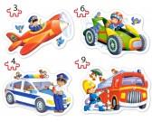 Puzzle Dopravní prostředky - DĚTSKÉ PUZZLE