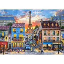 Puzzle Pařížská ulice