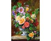Puzzle Květinová výzdoba