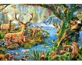 Puzzle Život v lese