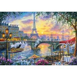 Puzzle Čas na čaj v Paříži