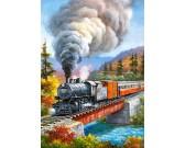 Puzzle Vlak na mostě