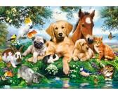 Puzzle Zvířecí kamarádi