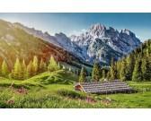 Puzzle Léto v Alpách