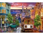 Puzzle Tramvaj v San Franciscu