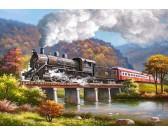 Puzzle Parní lokomotiva