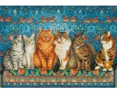 Puzzle Kočičí aristokracie