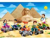Puzzle Průzkum pyramid - DĚTSKÉ PUZZLE