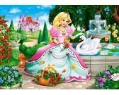 Puzzle Princezna s labutí - DĚTSKÉ PUZZLE